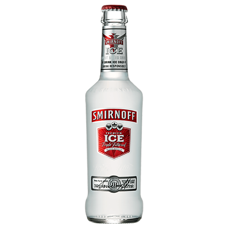 Smirnoff ice 33cl bottle can 1 hour delivery for Ice tropez alcohol percentage